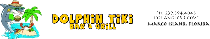 Dolphin Tiki Bar & Grill - Dine on the water, Marco Island Florida